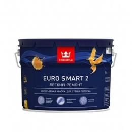 Краска интерьерная Тиккурила Евро 2 Tikurilla «Euro-2» 9л