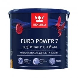 Краска интерьерная Тиккурила Евро 7 Tikurilla «Euro-7» 9л
