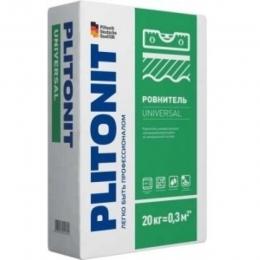 Наливной Пол влагостойкий Плитонит Универсал Plitonit Universal 20кг
