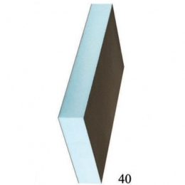Звуко-теплоизоляционная панель RPG 50 XPS 2500х600х50мм, 1.5м2 STUROFOAM, 2-ст, армирование