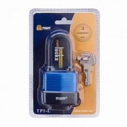 Навесной замок Влагозащищенный TP1-L40 MSM (т.упак 6шт.)
