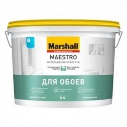Краска ВД интерьерная гл. матовая 10,0л Маэстро (Маршалл)