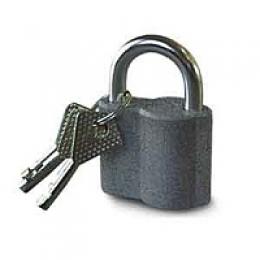 Замок навесной ВС 650 (ZH 650/50мм/метал.корпус/длин. дужка) Blister