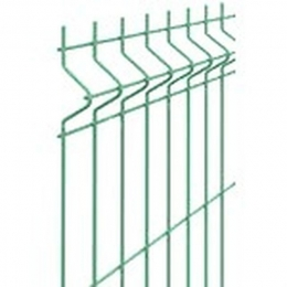 Крепёж для столба 40х60мм хомут средний зеленый 6005
