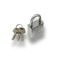Замок навесной ВС 1040 (хром/40 мм/3 ключа (12/48)