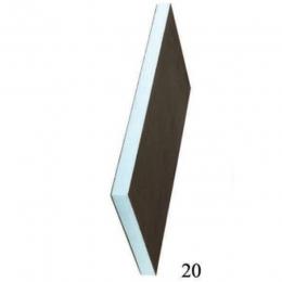 Звуко-теплоизоляционная панель RPG 30 XPS 2500х600х30мм, 1.5м2 STUROFOAM, 2-ст, армирование