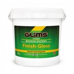 Шпатлевка финишная полимерная GLIMS®Finish-Gloss (25 кг)