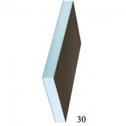 Звуко-теплоизоляционная панель RPG 40 XPS 2500х600х40мм, 1.5м2 STUROFOAM, 2-ст, армирование
