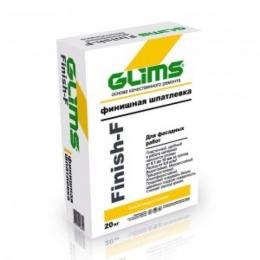 Шпатлёвка финишная GLIMS®Finish-F (20 кг)