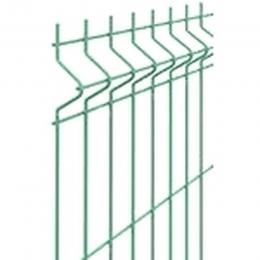 Столб забора 60х40х1,5мм длина 3м зеленый 6005