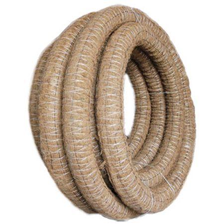 Труба дренажная ф 110 кокосовый