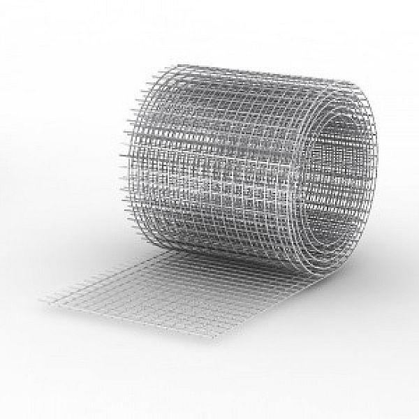 Сетка сварная 25х50х1,6мм, рулон(1,0 х 50) метра, чёрная