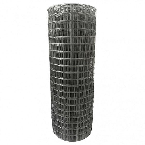 Сетка сварная 50х50х4,0мм, рулон(1,5 х 15) метра, чёрная