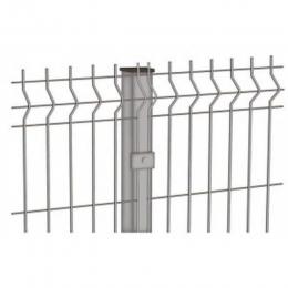 Ворота распашные 3Д 1530х3000мм RAL 6005