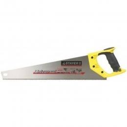 Ножовка по дереву, универсальный зуб, тефлоновое покрытие 500 мм Стайер, STAYER