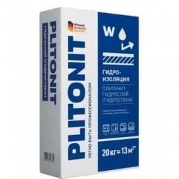 Гидроизоляционная смесь Плитонит (Гидростена) Plitonit 20кг