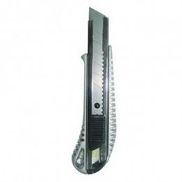 Нож технический 18мм, усилен, металл. корпус Strong