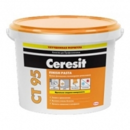 Шпаклевка полимерная финишная Ceresit CT 95 Finish Pasta