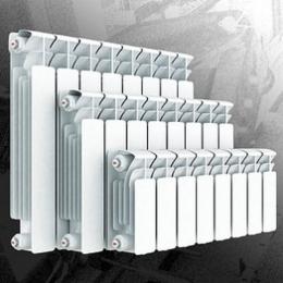 Радиатор масляный 7 секций, 1,2 кВт