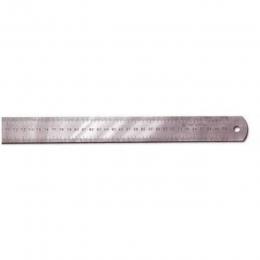 Линейка 1000 мм металл, широкая