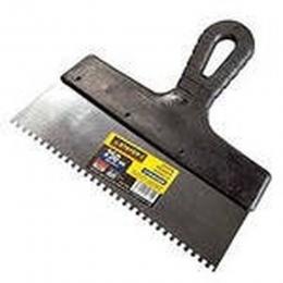 Шпатель зубчатый 300 мм, шагом зуба 10х10