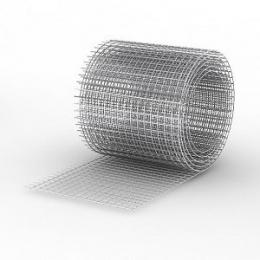 Сетка сварная 30х30х1,4мм, рулон(1,0 х 25) метра, чёрная