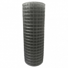 Сетка сварная 50х60х3,0мм, рулон(1,5 х 15) метра, чёрная